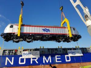 Железные дороги Израиля получили первый электровоз